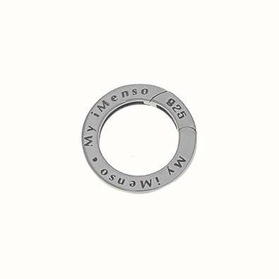 MY iMenso Eye Can Open 20mm+Logo (925/Rhod-Plated) 27-0196