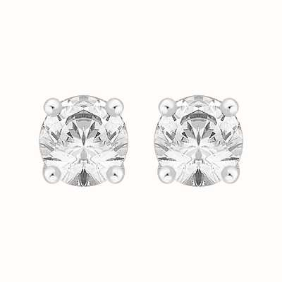 Perfection Swarovski Single Stone Four Claw Stud Earrings (2.00ct) E0200-SK