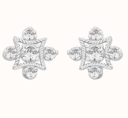 Perfection Swarovski Fancy Antique Stud Earrings (0.35ct) E2663-SK