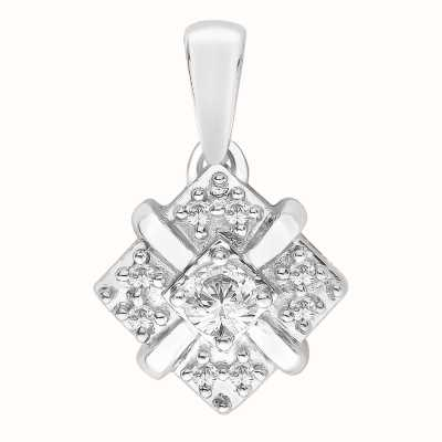 Perfection Crystals Fancy Cluster Pendant (0.25ct) P3254-SK