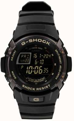 Casio Mens G-Shock Black Chronograph G-7710-1ER
