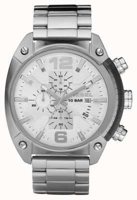Diesel Mens Chronograph Stainless Steel Bracelet Watch DZ4203