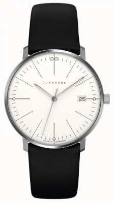 Junghans Max Bill Women's | Black Leather Strap | 047/4251.00
