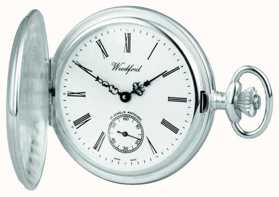 Woodford Silver Hunter Pocketwatch 1064