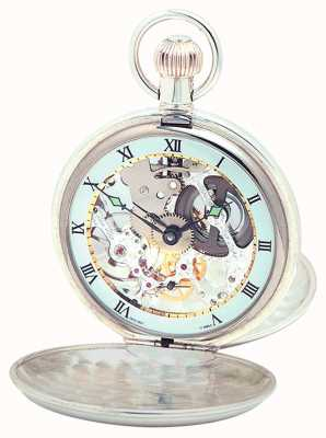 Woodford Silver Twin Lid Pocketwatch 1066