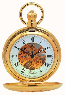 Woodford Pocket Skeleton Mechanical 1029