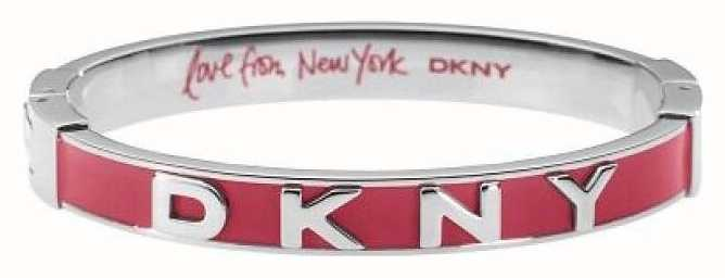 DKNY Stainless Steel Bangle Red Enamel NJ1933040