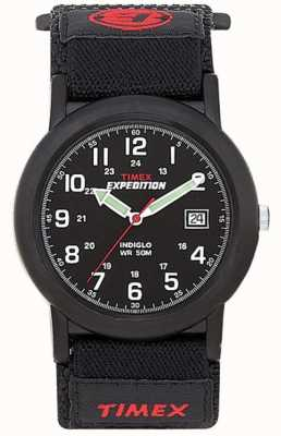Timex Mens Black Camper Expedition Watch T40011