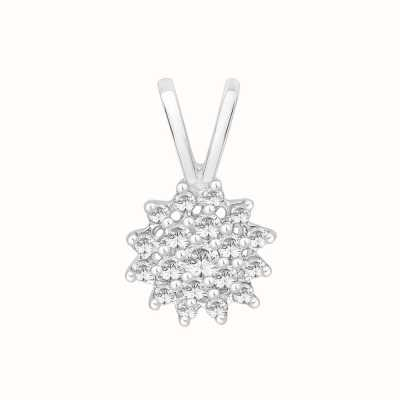 Perfection Crystals Classic Round Cluster Pendant (0.25ct) P0038-SK