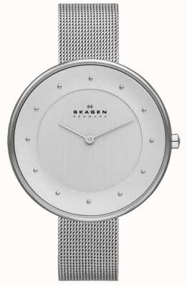 Skagen Ladies Klassik Silver Mesh Watch SKW2140