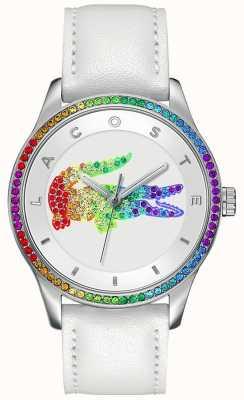Lacoste Victoria Multicolour White Watch 2000822