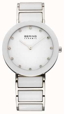 Bering Ceramic & Metal Bracelet Watch 11435-754