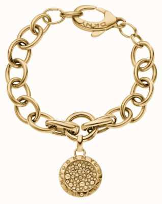 DKNY Gold Pvd plated Sparkle Bracelet NJ2028040