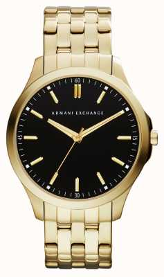 Armani Exchange Mens Hampton Low Profile Watch AX2145