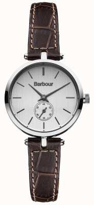 Barbour Lisle Brown Leather Strap Watch BB011SLBR