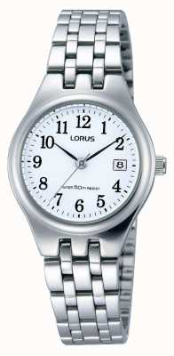 Lorus Ladies Stainless Steel Date Watch RH791AX9