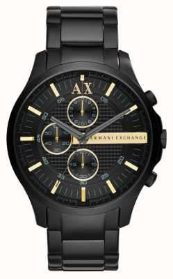 Armani Exchange Mens All Black Chronograph AX2164