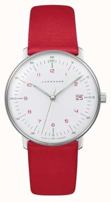 Junghans Max Bill Lady | Quartz | Red Strap 047/4541.04