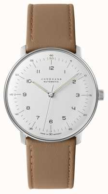 Junghans Max Bill Automatic Beige Leather 027/3502.04