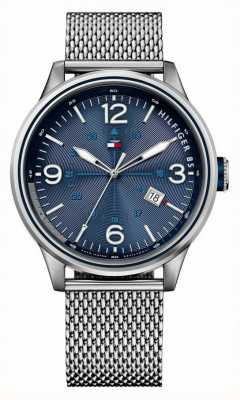 Tommy Hilfiger Mens Peter Watch With Mesh Bracelet 1791106