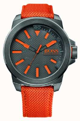 Hugo Boss Orange Mens New York Watch With Orange Strap 1513010
