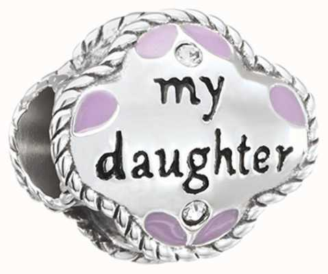 Chamilia My Daughter, My Friend - Sterling Silver with Swarovski Crystal and Enamel 2025-1407