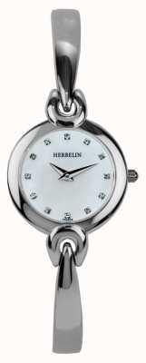 Michel Herbelin Womens Stainless Steel Case, Mother Of Pearl 17001/B59
