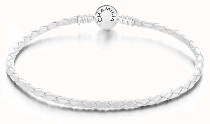 Chamilia White Braided Medium Bracelet 1030-0142