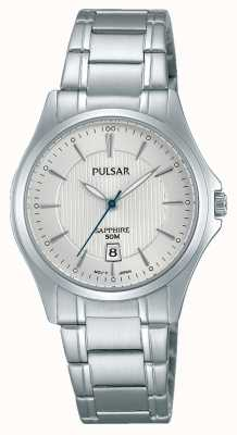Pulsar Womens Stainless Steel Silver Dial PH7423X1