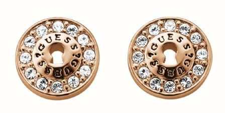 Guess Womens All Locked Up Padlock Stud Earings UBE71331