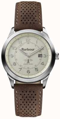 Barbour Mens Walker Brown Leather Strap BB017CPBR