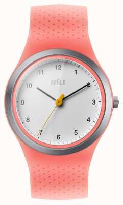 Braun Womens Sport Pink Silicone BN0111WHPKL