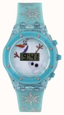 Disney Frozen Olaf Light-up Blue Childrens Watch FZN3799