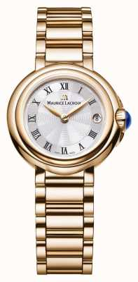 Maurice Lacroix Ladies Fiaba 28mm Date Gold Tone FA1003-PVP06-110-1