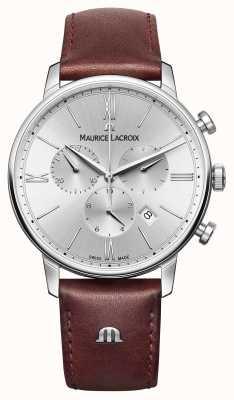 Maurice Lacroix Eliros Date Leather Strap Chronograph EL1098-SS001-110-1