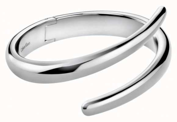 Calvin Klein Embrace Stainless Steel Bangle KJ2KMD00010S