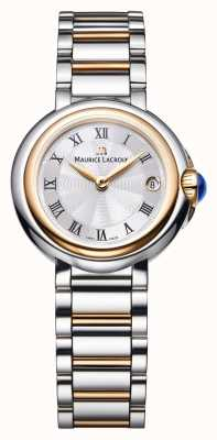 Maurice Lacroix Fiaba 26mm Womens Two Tone Silver Dial FA1003-PVP13-110-1