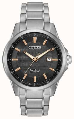 Citizen Gents Eco-Drive Titanium WR100 AW1490-50E