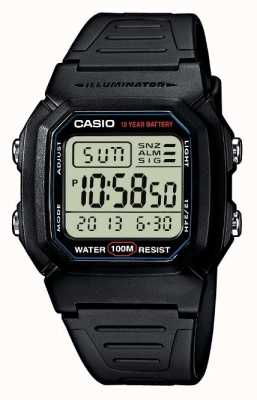 Casio Sports Gear Alarm Chronograph W-800H-1AVES