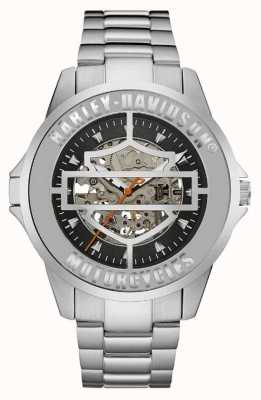 Harley Davidson Mens Automatic Stainless Steel 76A154
