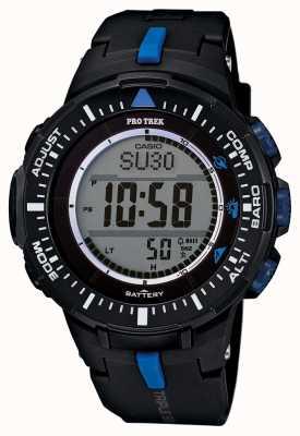 Casio Mens Protrek Alarm Resin Strap PRG-300-1A2ER
