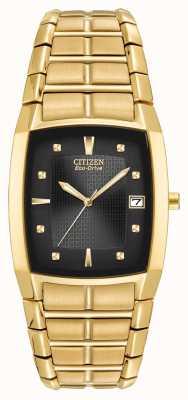 Citizen Mens Ion Plated Mens Bracelet BM6552-52E