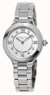 Frederique Constant Womens Classics Delight Diamond Set Stainless Steel FC-200WHD1ER36B