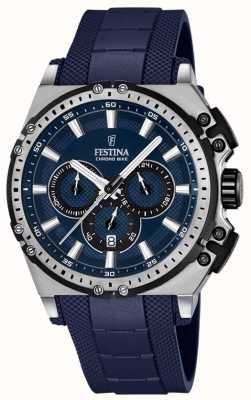 Festina 2016 Chronobike Mens Chronograph Watch Blue F16970/2