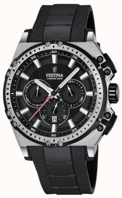 Festina 2016 Chronobike Mens Chronograph Watch Black F16970/4
