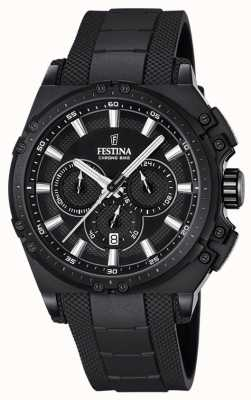 Festina 2016 Chronobike Mens Chronograph Watch Black F16971/1