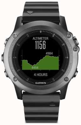 Garmin Mens Fenix 3 Sapphire Performance HRM-Run Bundle 010-01338-26
