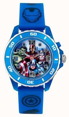 Avengers Childrens Avengers Blue Strap Character Dial AVG3506