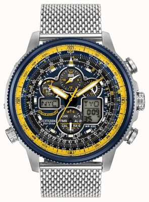 Citizen Navihawk Blue Angels Radio Controlled Eco-Drive JY8031-56L