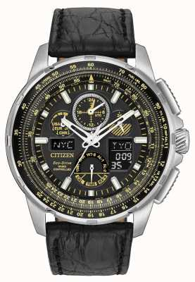 Citizen Eco-Drive Limited Edition Skyhawk A.T Leather JY8057-01E